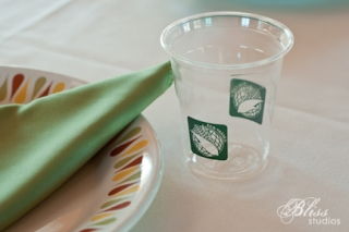 Use eco friendly composting cups