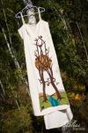 Eco friendly customized hemp dress