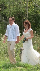 Lakeside wedding, Falcon Lake