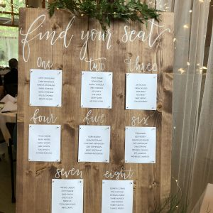 Wooden, Metal & Marquee Signs